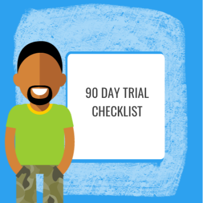 90 day trial checklist