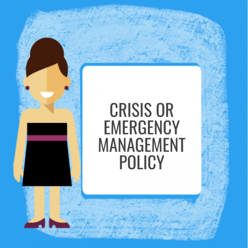 Crisis or Emergency Management Policy
