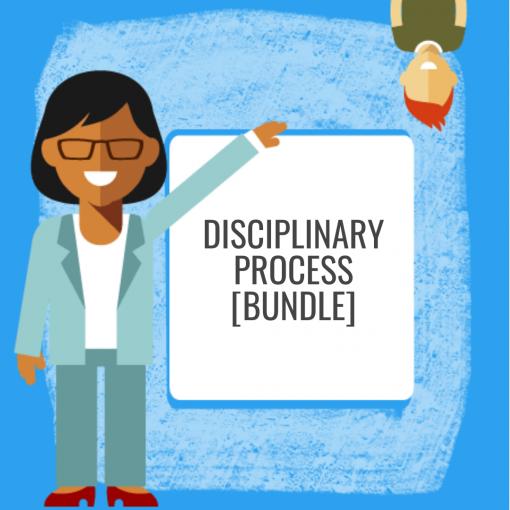 Disciplinary Process Bundle