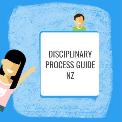 Disciplinary Process Guide NZ
