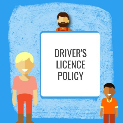 Driver's Licence Policy