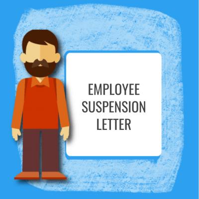 Employee Suspension Letter