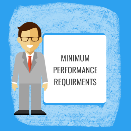 HR Documents for Employee Minimum Performance Requirements
