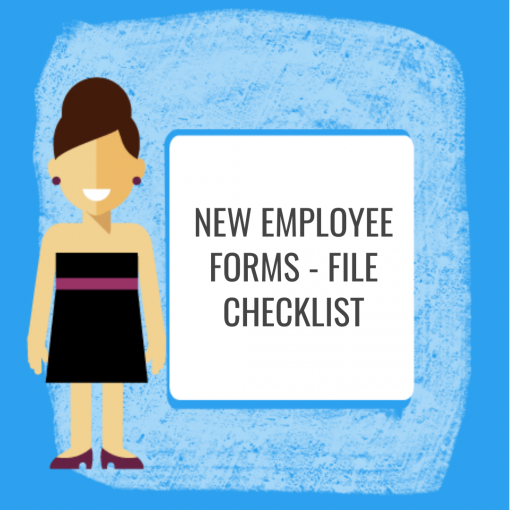 New Employee Forms - File Checklist