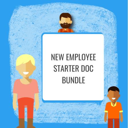 New Employee Starter Doc Bundle