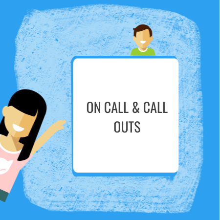 HR Documents for Employee On Call & Call Outs
