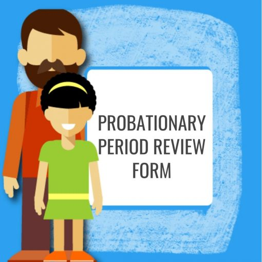 Probationary Period Review Form