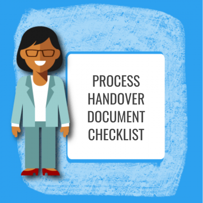Process Handover Document Checklist