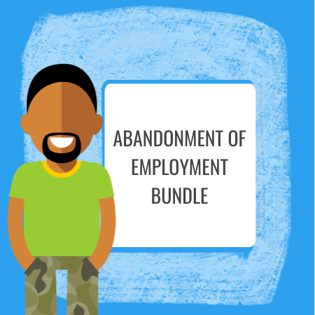 abandonment of employment bundle