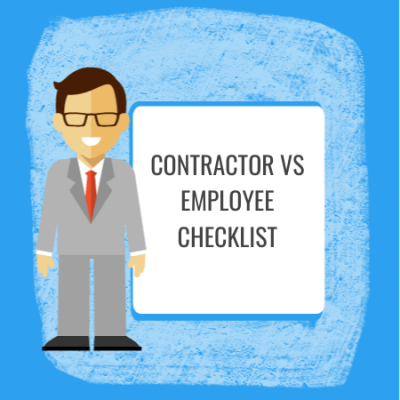contractor vs employee checklist