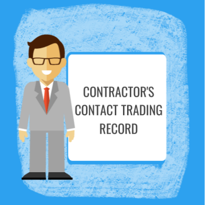 contractors contract trading record