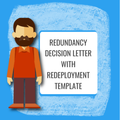 redundancy decision letter with redeployment template