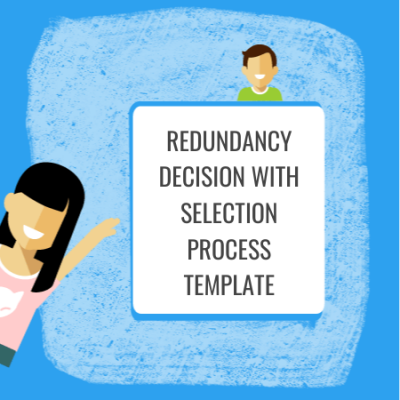 redundancy decision with selection process