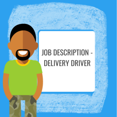 job description - delivery driver