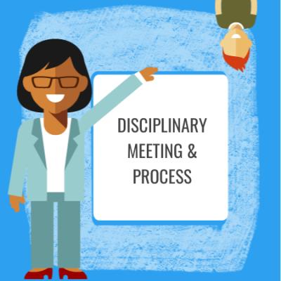 disciplinary meeting & process