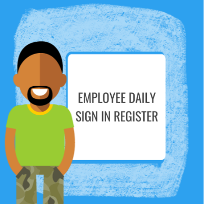 employee daily sign in register