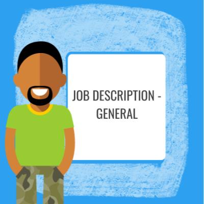 job description general