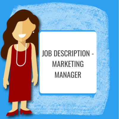 job description - marketing manager