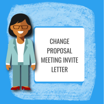 change proposal meeting invite letter