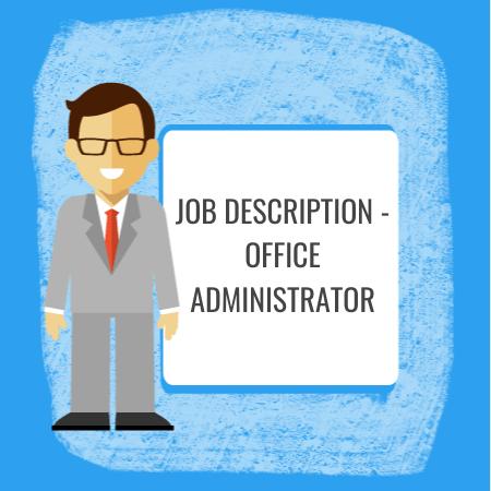 job description - office administrator