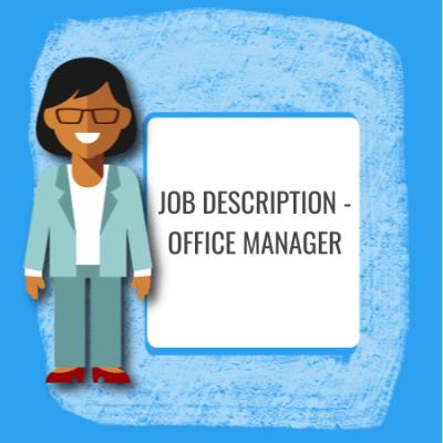 job description - office manager