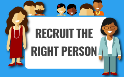 Recruit the right staff the first time!
