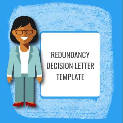 redundancy decision letter