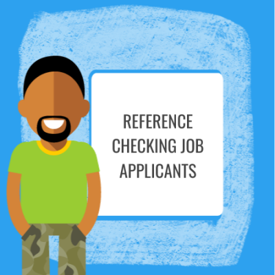 referrence checking job applicants