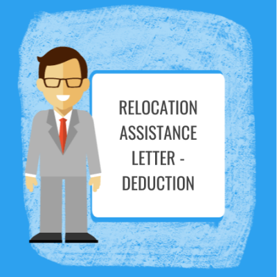 relocation assistance letter