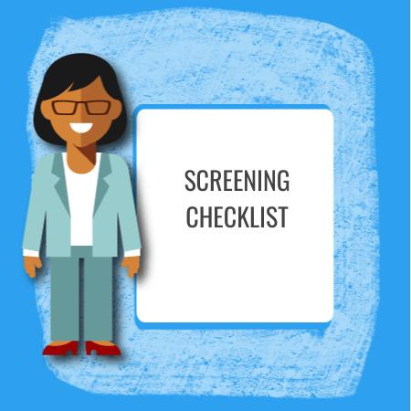 screening checklist