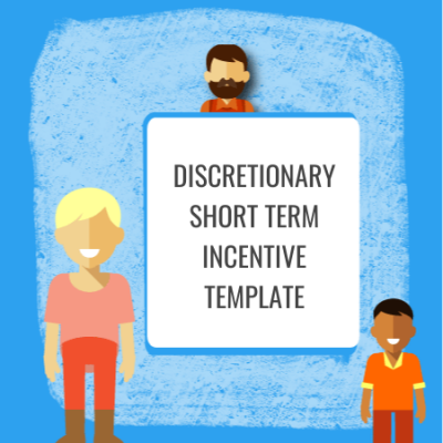 discretionary short term incentive template