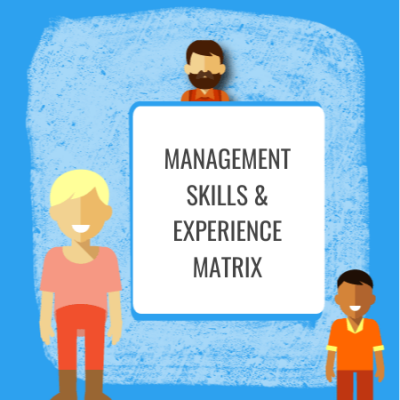 mangement skills and experience matrix