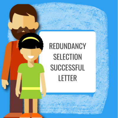 redundancy selection successful letter