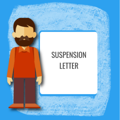 suspension letter