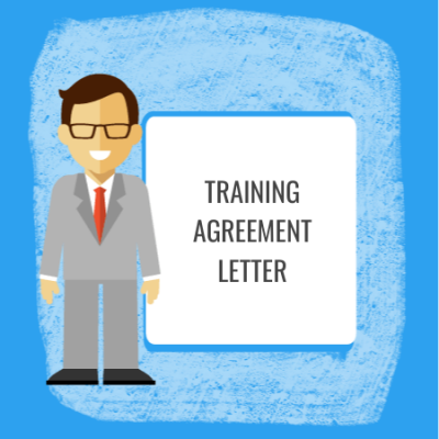 training agreement letter