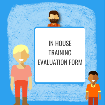 in house training evaluation form