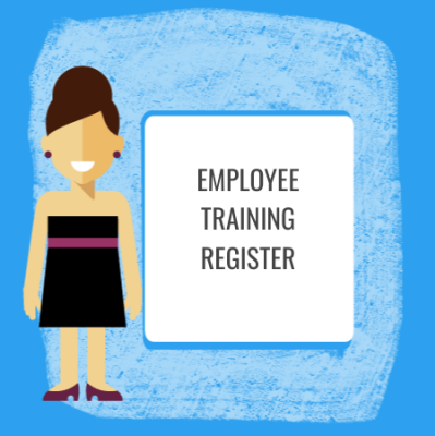 employee training register