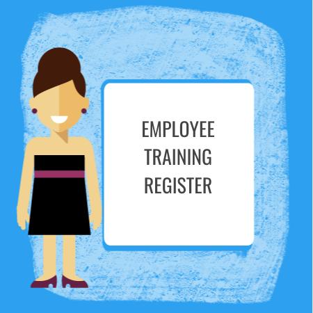 employee training register