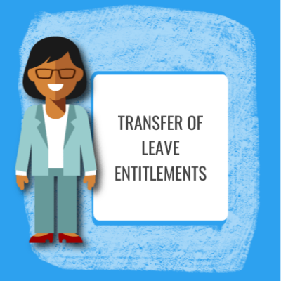 transfer of leave entitlements