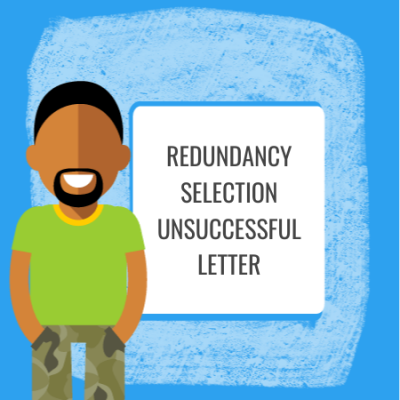redundancy selection unsuccessful letter