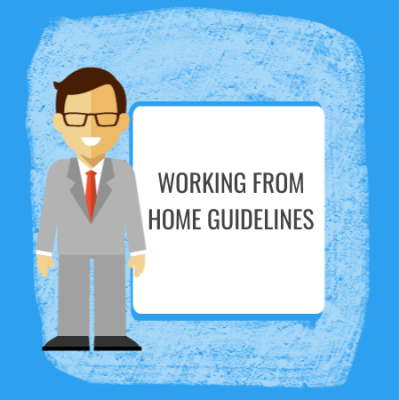 working from home guidelines